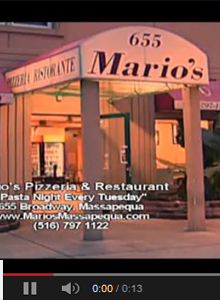 Mario's Italian Restaurant, Catering & Pizzeria Massapequa in Nassau County Long Island